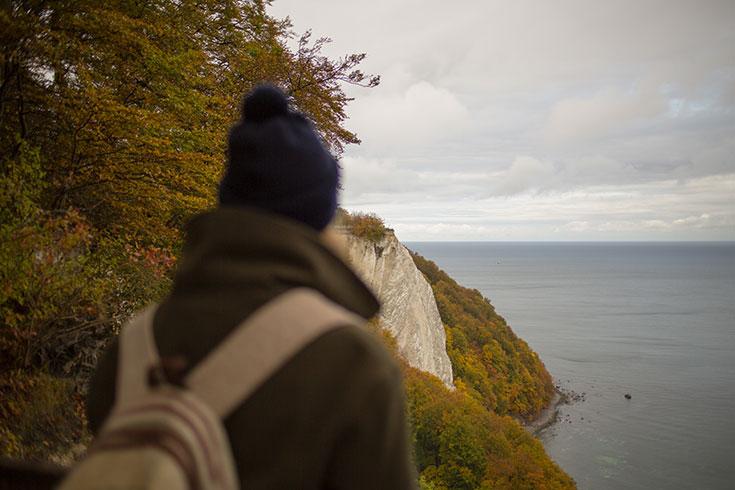 Naturoase Gustow »Im Jaich« – nachhaltige Ferienhäuser auf Rügen, Kreidefelsen
