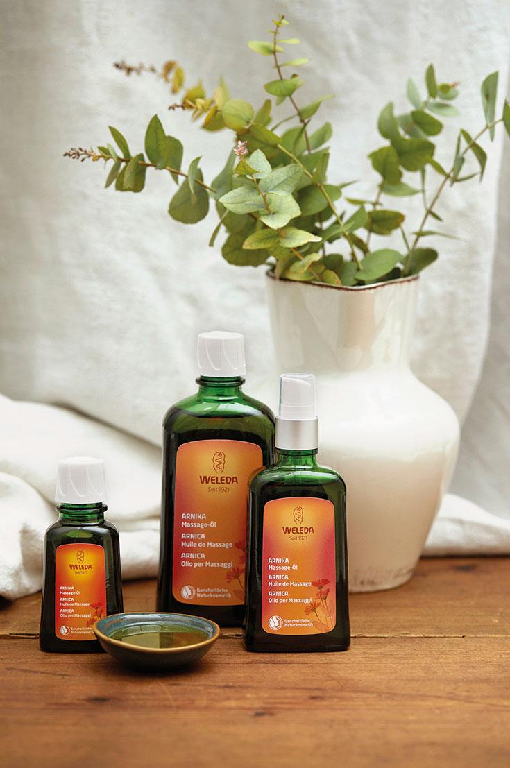 Peppermynta-Peppermint-Naturkosmetik-Weleda-Körperöle-Bio-Körperöl-Massageöl-Granatapfel-Regenerations-Öl