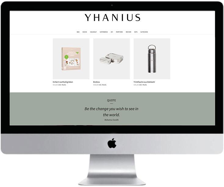 Plastikfrei einkaufen – Unsere liebsten Zero Waste Online Shops: Yhanius