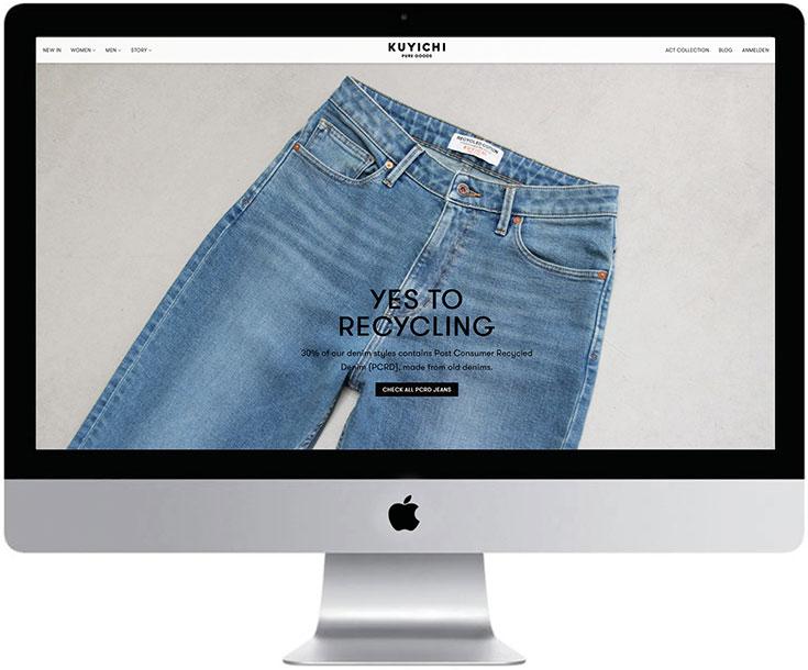 Fair Fashion Jeans – Unsere liebsten Bio Denim Marken: fair, öko und nachhaltig produziert. Von Kuyichi