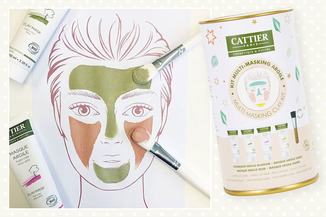 Peppermynta-Peppermint-Naturkosmetik-Cattier-Paris-Heilerde-Set-Multi-Masking-Clay-Kit-Cattier-Heilerde-Multi-Masking-Kit