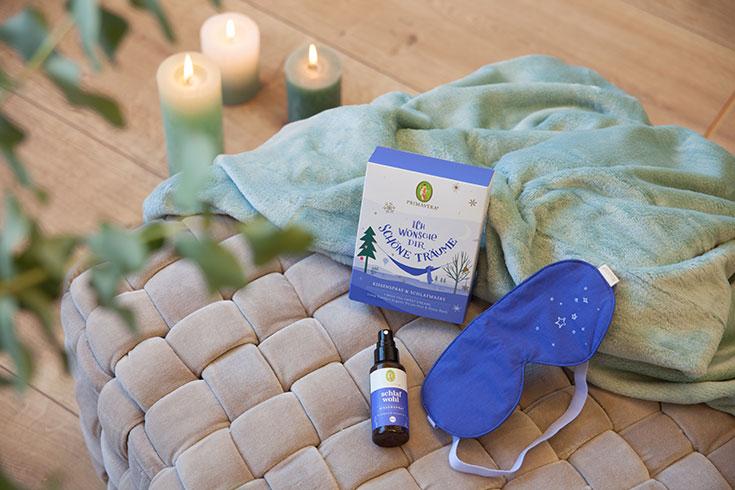 Primavera Geschenksets – Ätherische Öle für entspannte Weihnachtsmomente: Verlosung, Gewinnspiel, Ich wünsche dir schöne Träume