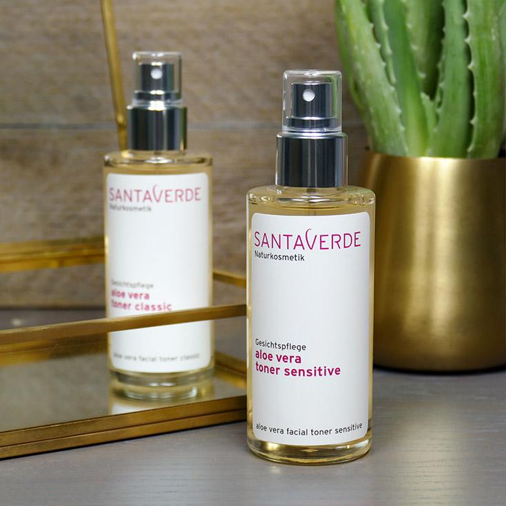 Santaverde Naturkosmetik – Weshalb Gesichtsreinigung so wichtig für die Hautpflege ist, sensible, normale Haut, Toner, Gesichtswasser