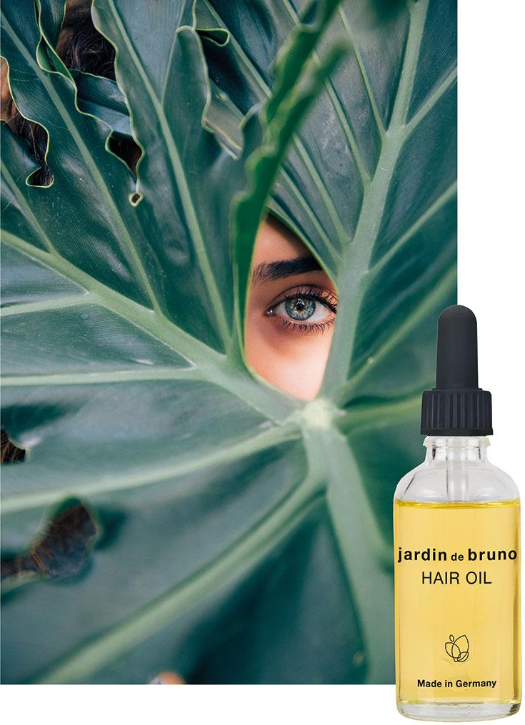 Jardin De Bruno – vegane Naturkosmetik mit 10 naturreinen Bio Ölen: Kaktusfeigen-Öl, Himbeersamen-Öl, Traubenkern-Öl, Marula-Öl, Moringa-Öl, Sonnenblumen-Öl, Cacay-Öl