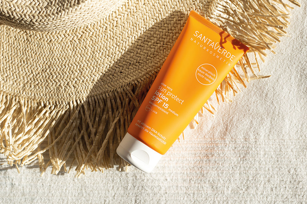 Santaverde – unsere liebste Naturkosmetik gegen Pigmentflecken, natürlicher Sonnenschutz, Naturkosmetik Sonnenpflege, Anti-Aging Kosmetik, Aloe Vera Kosmetik