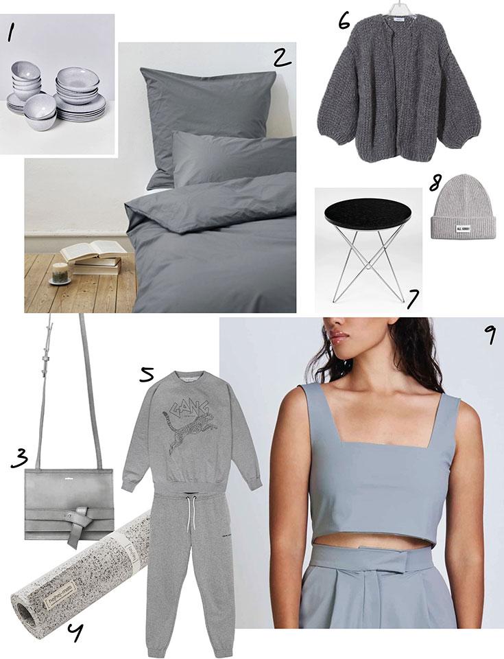 Pantone Ultimate Gray – Unsere Eco Lifestyle Lieblinge in der Farbe des Jahres 2021
