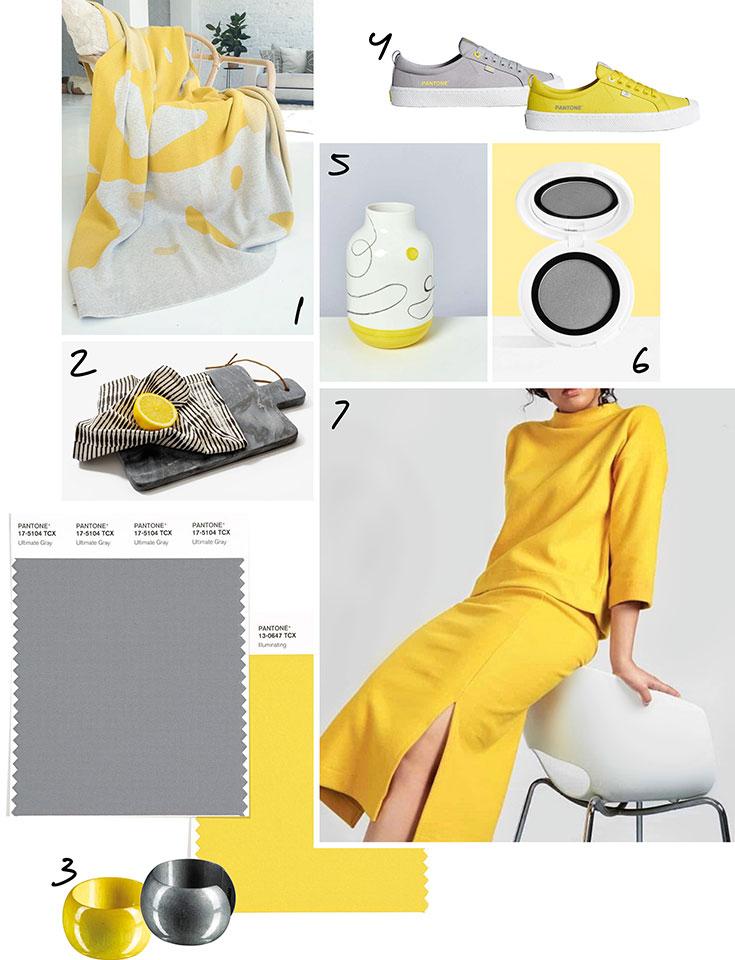 Pantone Farben des Jahres 2021 – Unsere Eco Lieblinge in Ultimate Gray und Illuminating