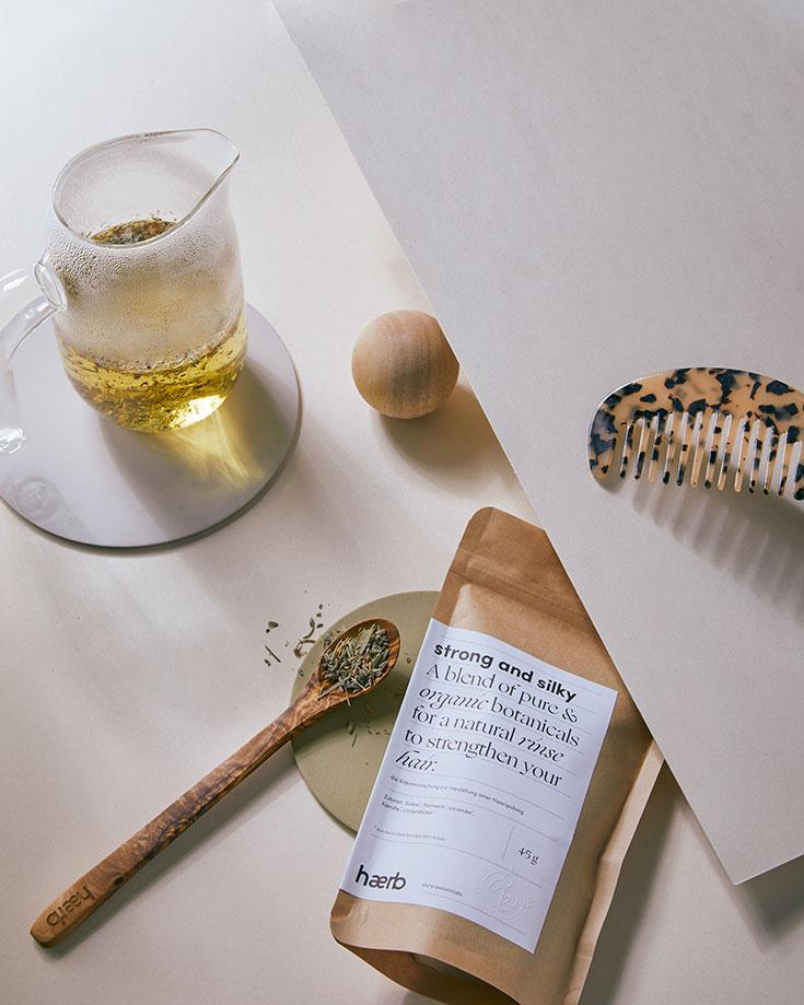 Haerb Pure Botanicals – Selfcare mit der Kraft der Kräuter: Steaming, Gesichtsdampfbad, Gesichtsöl, Haaröl, Bio Tee, Tea Blends