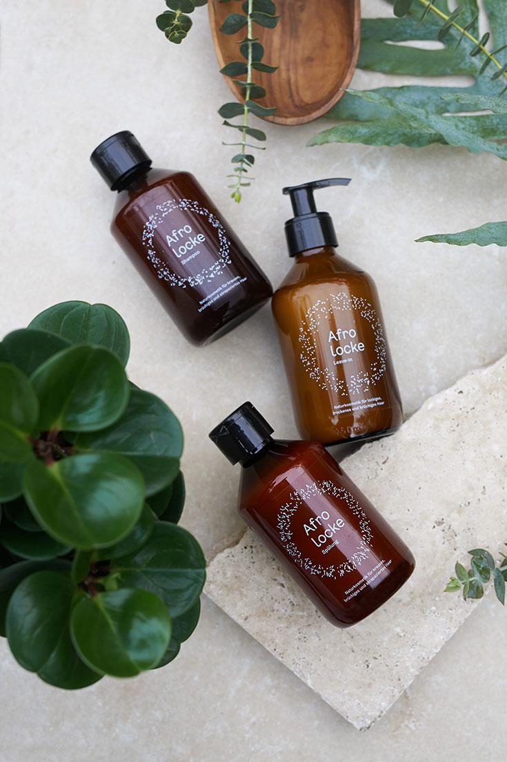 Afrolocke – Naturkosmetik Shampoo und Pflege für Lockenköpfe, Afrohaar, Naturkrause, Lockenpflege