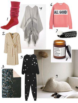 Cocooning – unsere Eco Lifestyle Lieblinge für dein Kuschel-Zuhause: Slouch Socken, Cocoon Pullover, Duftkerze, Loungewear, Kuscheldecke