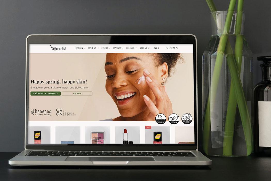 Happy Shopping! Wir verlosen 3 Gutscheine für den Cosmondial Naturkosmetik Onlineshop