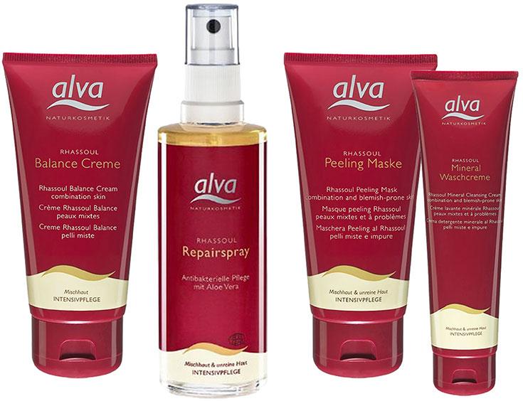 Naturkosmetik für unreine Haut – Natürliche Gesichtspflege gegen Akne & Mitesser: Alva Rhassoul