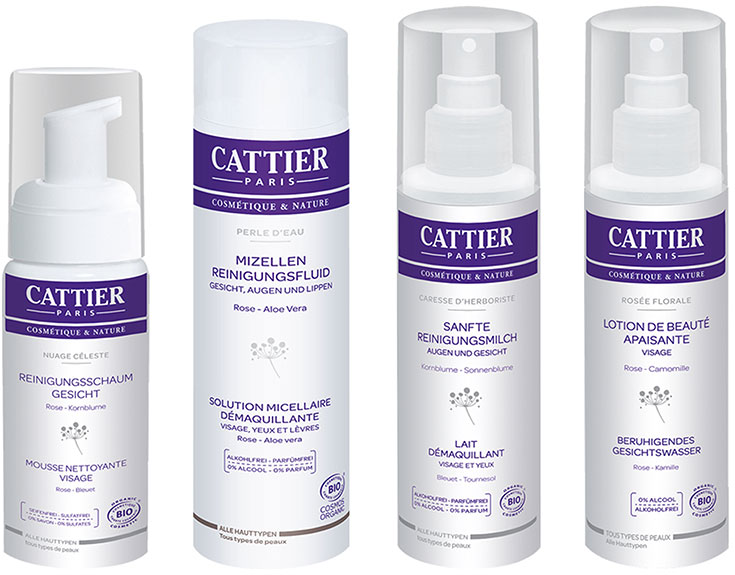 Naturkosmetik für unreine Haut – Natürliche Gesichtspflege gegen Akne & Mitesser: Cattier Paris