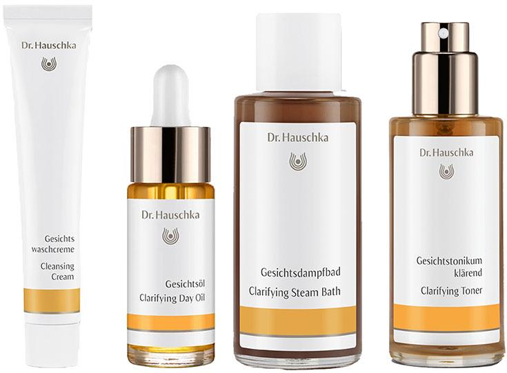 Naturkosmetik für unreine Haut – Natürliche Gesichtspflege gegen Akne & Mitesser: Dr. Hauschka