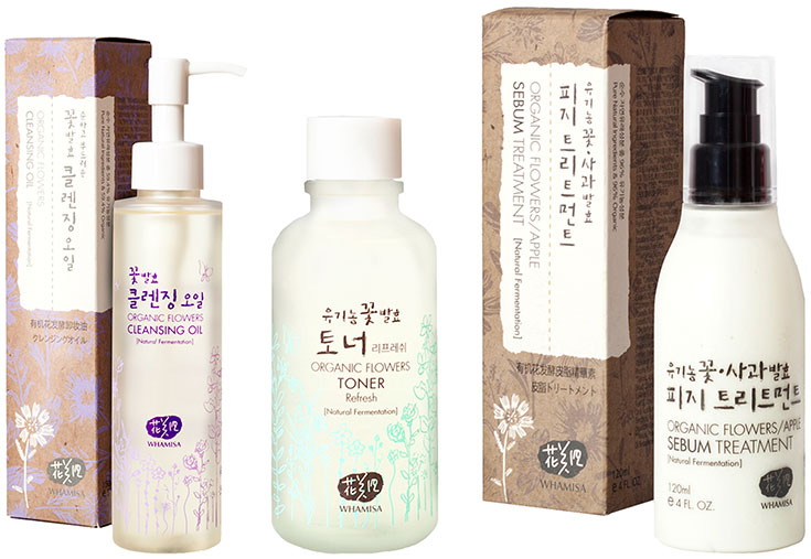 Naturkosmetik für unreine Haut – Natürliche Gesichtspflege gegen Akne & Mitesser: Whamisa Organic Flowers