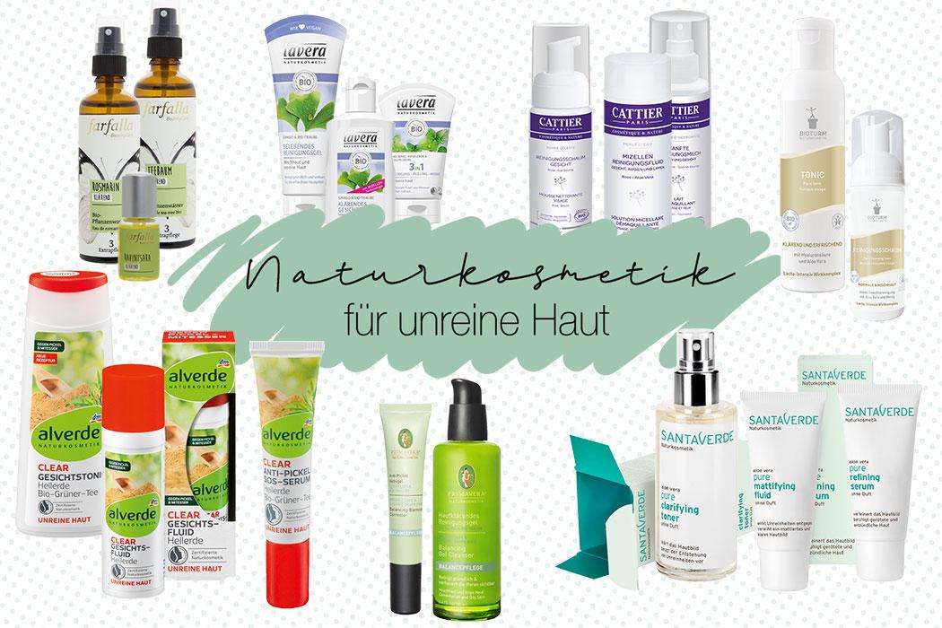 Naturkosmetik für unreine Haut – Natürliche Gesichtspflege gegen Akne & Mitesser