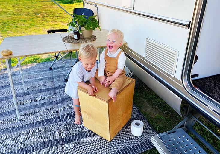 Trobolo – die nachhaltige Trockentoilette für Camping & Co., autarkes Trockenklo, Alternative zu Chemietoilette, Chemieklo, für Wohnwagen