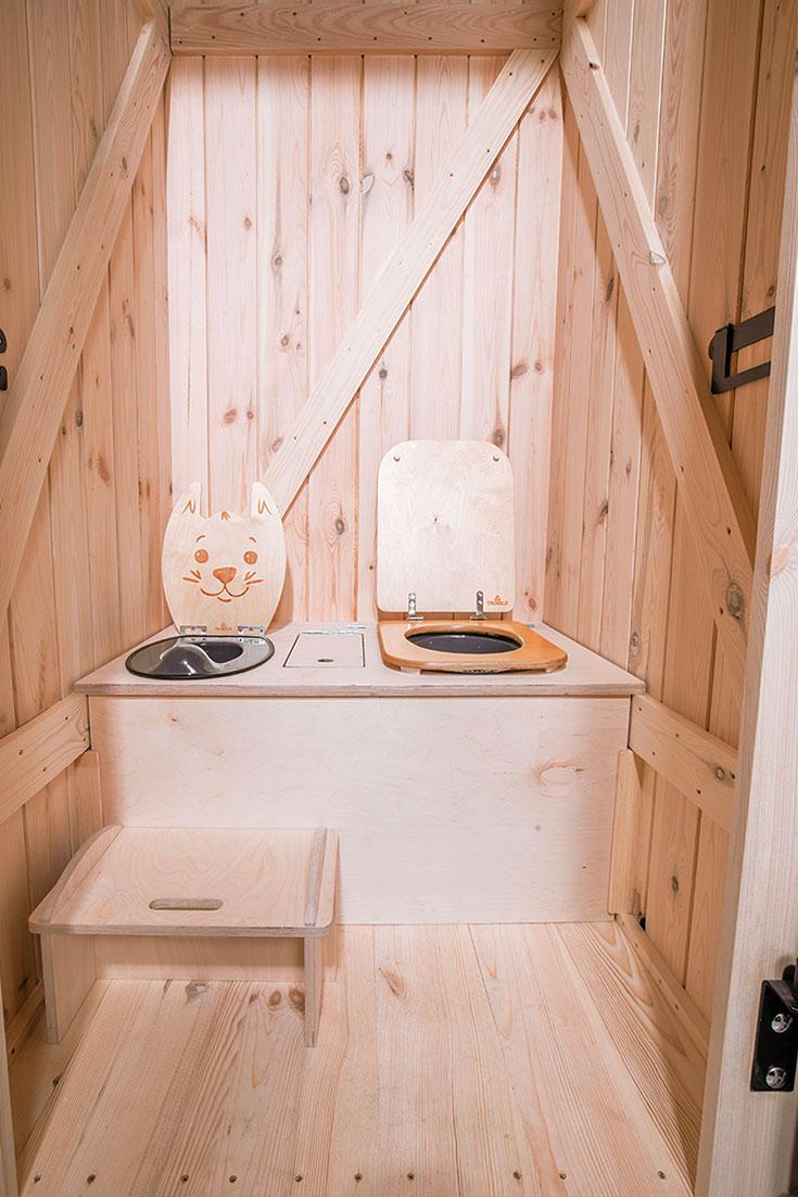 Trobolo – die nachhaltige Trockentoilette für Camping & Co., autarkes Trockenklo, Alternative zu Chemietoilette, Chemieklo, Klohäuschen