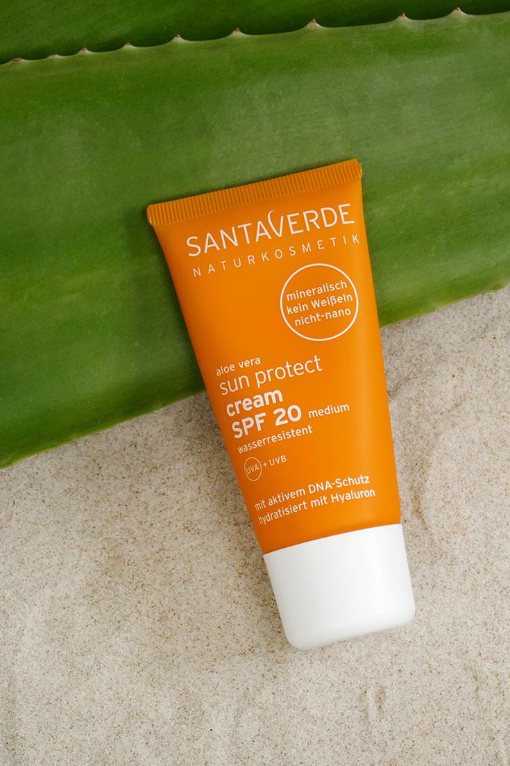 Santaverde Sonnencreme – Mineralische Sonnenpflege mit Rundumschutz: natürlicher Sonnenschutz und After Sun Lotion, zertifizierte Naturkosmetik