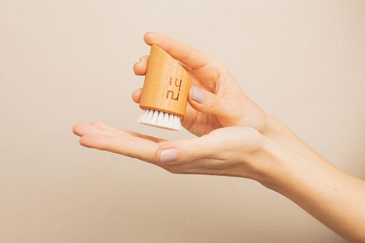Ruhi Rituals– Nachhaltige Körperbürsten für Natural Selfcare Rituale: Trockenbürste, Gesichtsbürste, Körperbürste, Dry Brushing, Facial Brush, Ayurveda, Gharsana, Körperpeeling