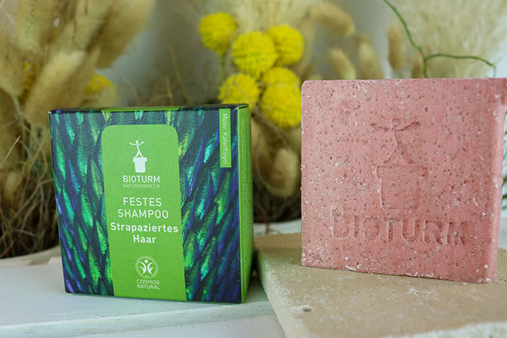 Bioturm Naturkosmetik – festes Shampoo für fettiges, strapaziertes und feines Haar, keine Haarseife, keine saure Rinse nötig