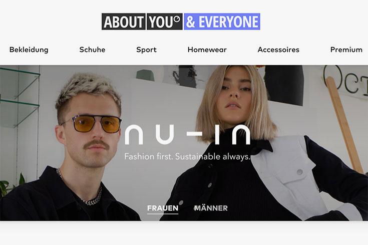 Nu-In: Warum wir das Influencer Label von Stefanie Giesinger und Marcus Butler kritisch sehen: Quelle About you