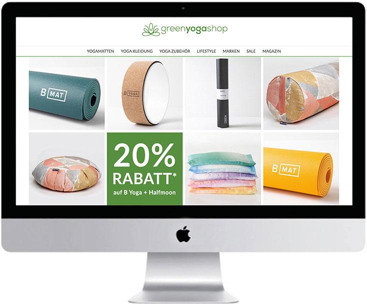 Nachhaltige Yoga Onlineshops – Die besten Stores für fair produziertes Yoga Zubehör: Greenyogashop