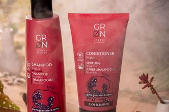 GRN – Naturkosmetik Haarpflege für trockenes und strapaziertes Haar: Naturkosmetik Shampoo, Spülung, Conditioner