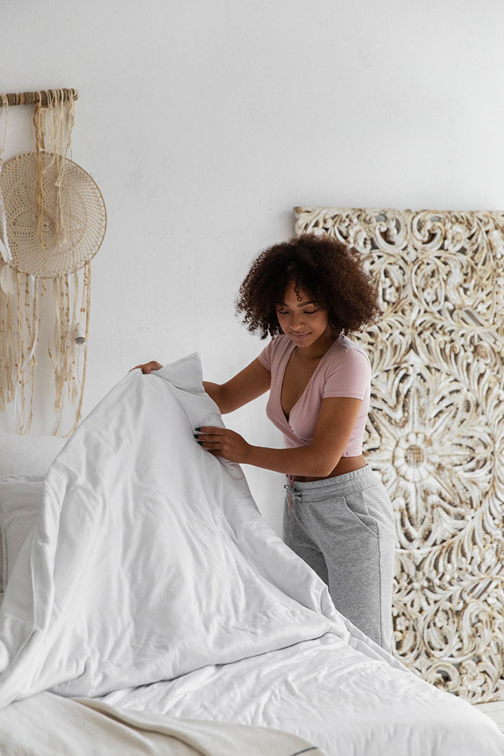 Wie du mit Ritualen zu mehr Ruhe und besserem und gesünderem Schlaf findest: Traumfänger