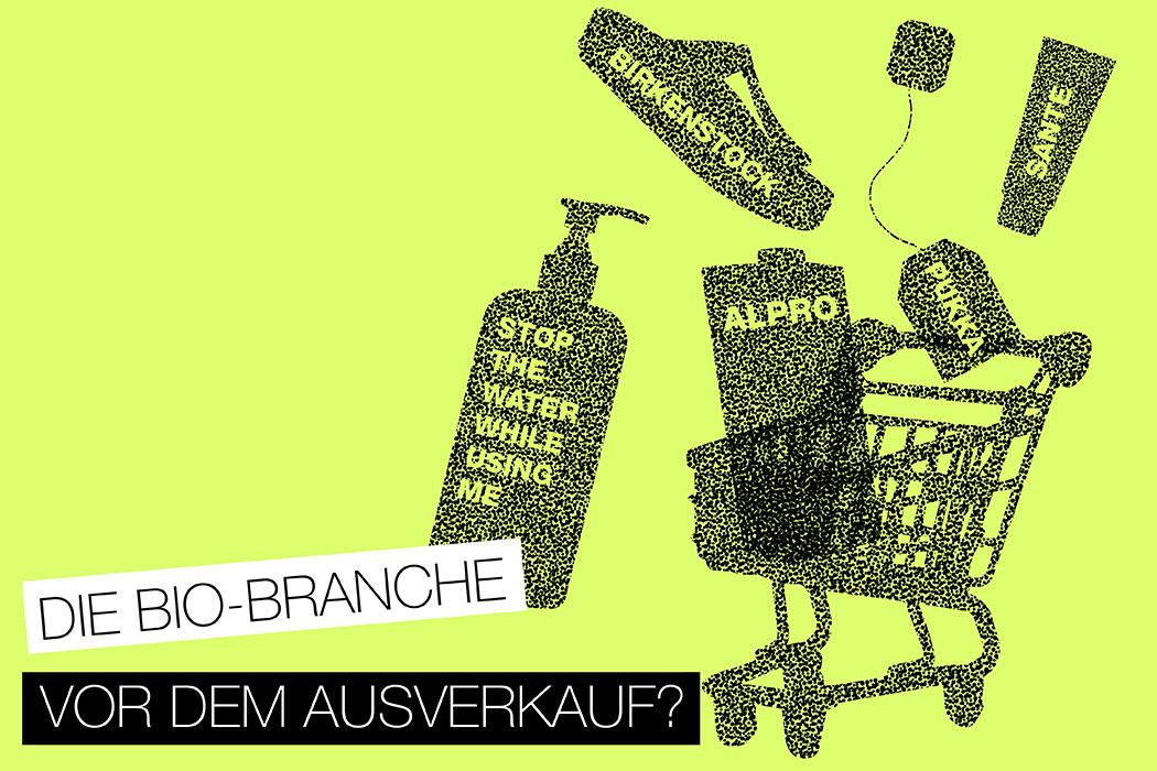 Nachhaltige Marken und Großkonzerne - Wer gehört zu wem? Birkenstock, Stop The Water While Using Me an Beiersdorf verkauft, Sante, Logona an L´Oreal (Nestle) verkauft, Pukka an Unilver, Alpro an Danone