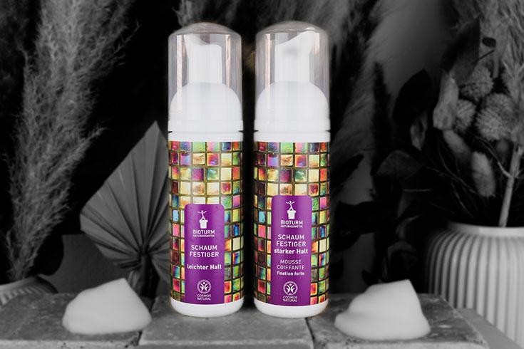 Naturkosmetik Haarstyling Produkte von Bioturm – Textur, Halt und Volumen: NNaturkosmetik Haarspray, Styling Gel, Schaumfestiger starker Halt, Haargel