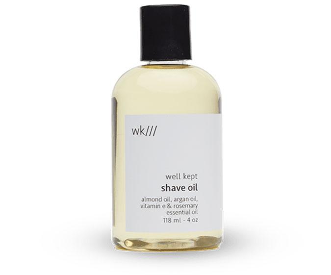 Nachhaltig Rasieren – unsere Favoriten für natürliche Haarentfernung: Naturkosmetik Rasieröl von Well Kept