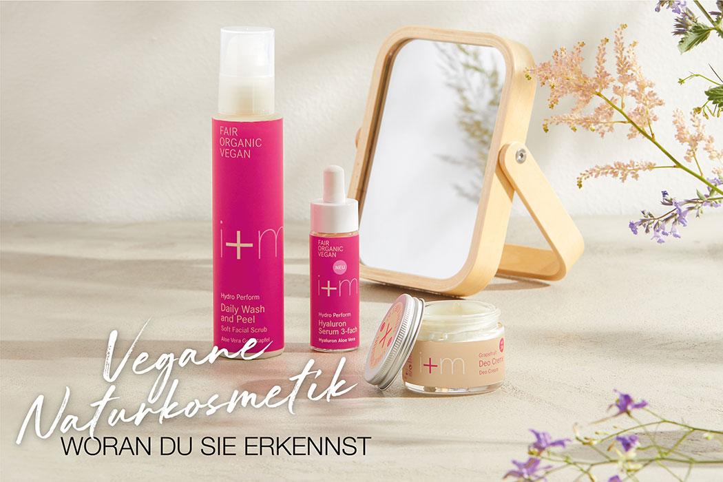 i+m Naturkosmetik Berlin – Was macht vegane Naturkosmetik aus? Wie erkennst du vegane Kosmetik ohne tierische Inhaltsstoffe?