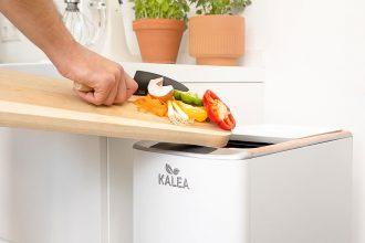 Kalea – automatischer Küchenkomposter verwandelt Biomüll, Küchenabfälle, Bioabfall in 48 Stunden zu Kompost