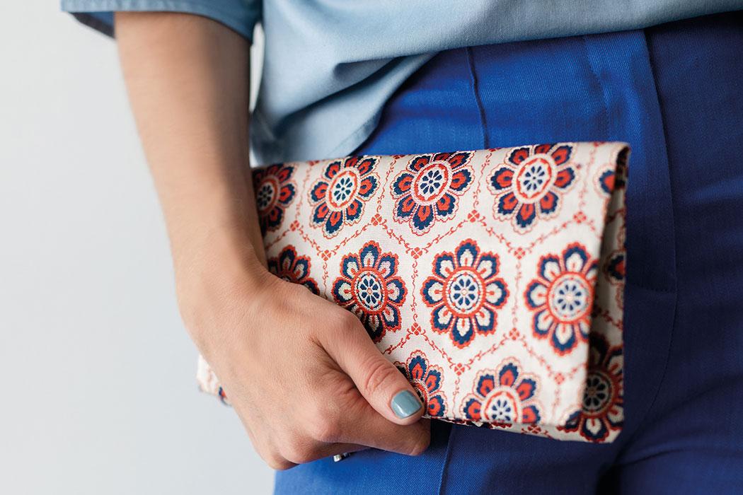 Friends That Rhyme – Upcycling Taschen aus asiatischen Vintage-Stoffen: Handtasche, Clutsch, Vintage-Style