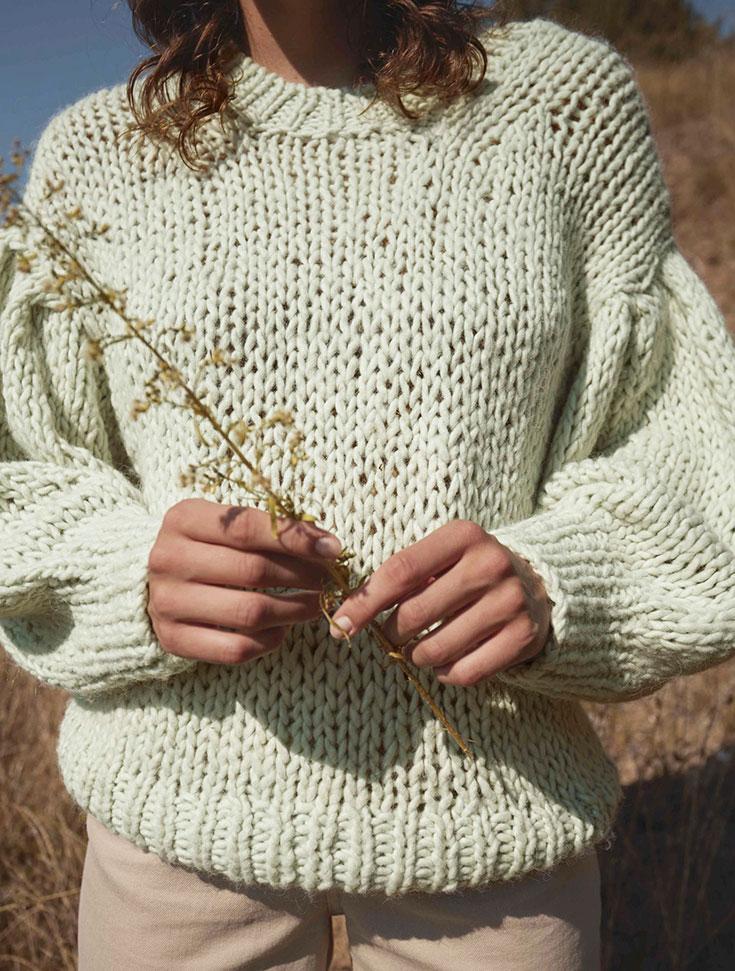 Fairer Strick ist schick – Kuschelige Fair Fashion Pullover, nachhaltige Strickjacken, faire Strickmode, nachhaltige Pullunder, handgestrickt, Eco Cardigan, XXL Strickjacke, faire Wolle, mulesingfreie Wolle, mulesingfree: Aichy