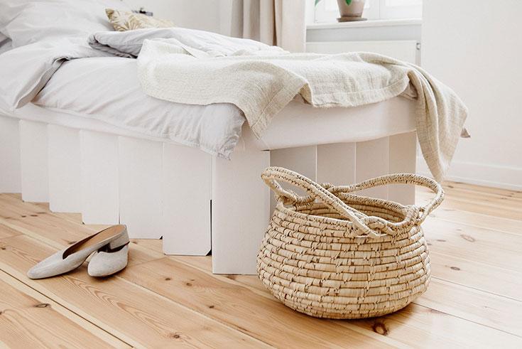 Avocadostore – Die Eco Lifestyle Lieblinge von Mimi Sewalski: Fair fashion, nachhaltige Produkte, fair produzierte Geschenke: Room In A Box Bett aus Pappe