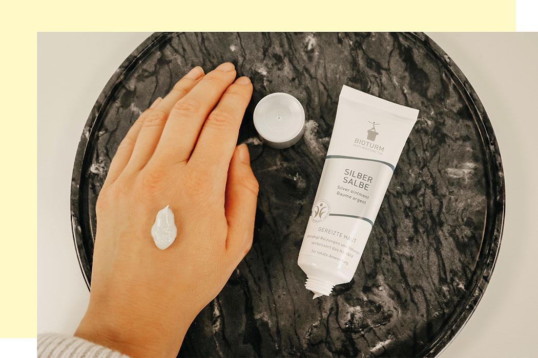 Ciao Apotheke, hallo Naturkosmetik! Mit Bioturm Hautprobleme natürlich behandeln: Silbersalbe, Hautirritationen, Juckreiz, Hautkrankheiten, Hautschutzsalbe, Neurodermitis, Bio-Kosmetik für trockene Haut