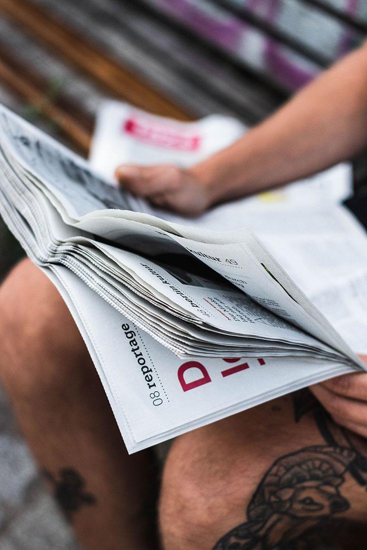 Unabhängiger Journalismus – 5 Gründe, warum wir taz so lieben. taz die Tageszeitung Abo mit Santaverde Naturkosmetik Prämie