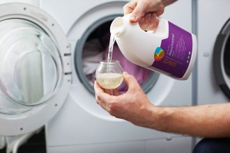 Ökologische Waschmittel und nachhaltige Waschtipps, Bio Waschpulver, nachhaltiges Waschmittel von Sonett, Baukastensystem