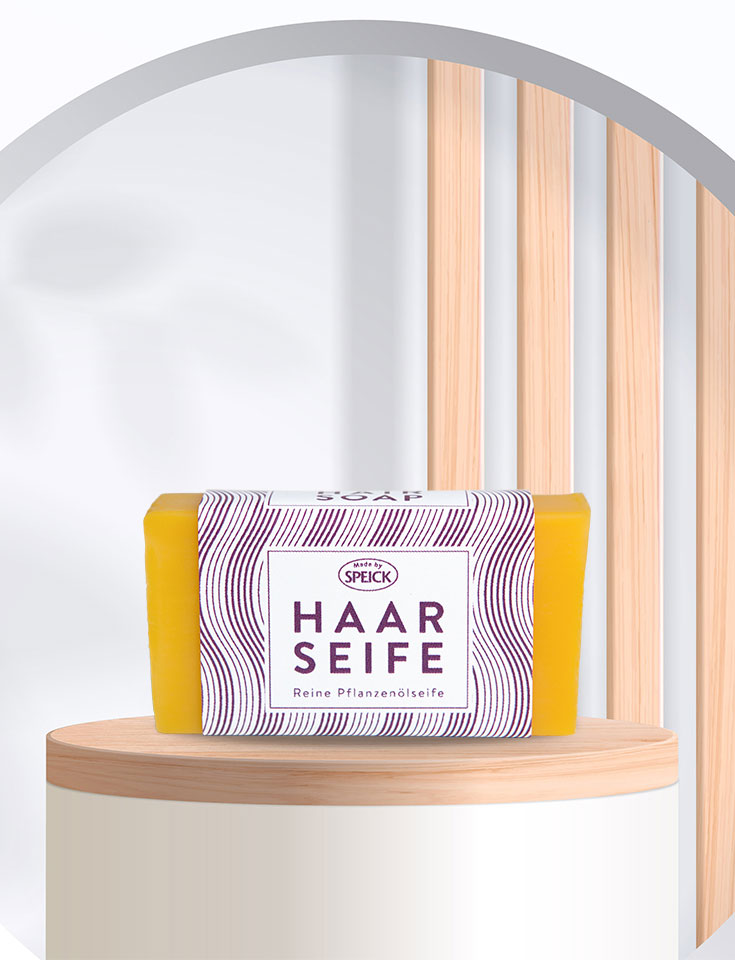 Festes Shampoo und Haarseife – starke Stücke von Speick Naturkosmetik